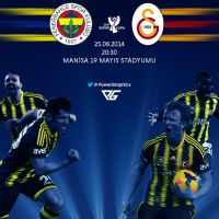 Super Kupa Fenerbahce - Galatasaray by Power-Graphic