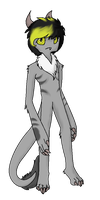 Kenzo the furry Enderman by FanFicGirl