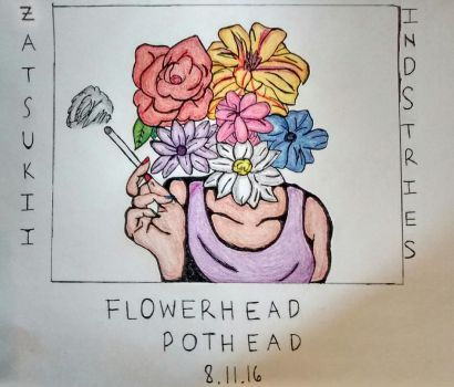 FLOWERHEAD POTHEAD OUT NOW  by zatsukiis