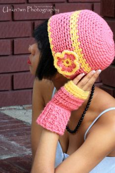 hat and fingerless gloves 2 by no1uvinterest
