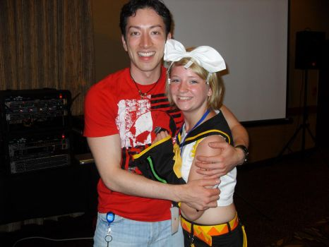 Me and Todd Haberkorn by AshleeTheBrokenAngel