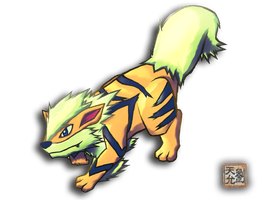 Arcanine 059 - for Chance by Jaden-Lau