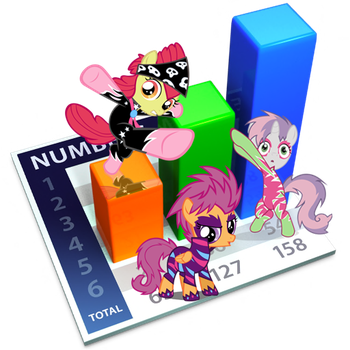 MLP: Numbers Icon v2 by taeliac