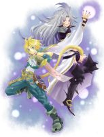 FFIX Zidane and Kuja by NekoZidaneTribal