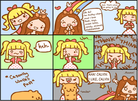 Steph and Ruthy Comic by steffne