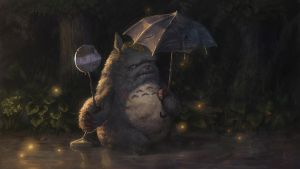 When Totoro gets old -- Version 2 by istarlove