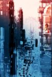 As night falls on the big city. by PascalCampion