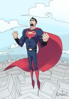 Man of steel by After9