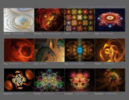 13 Back Cover Calendar by YarNor