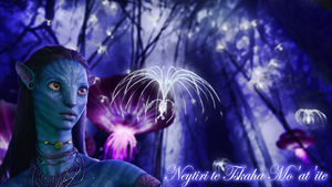 Avatar Neytiri Wallpaper by Prowlerfromaf