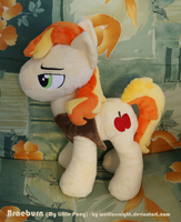 Braeburn Plush Commission II by Wolflessnight