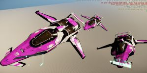 Hello Kitty Space Racer3 by FalchionGPX