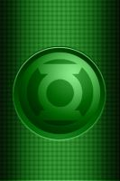 Green Lantern Fabric background by KalEl7