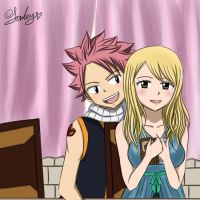 Nalu are talking. by JurleyRan