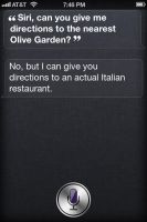 Siri, doing it right. by buddygirl1004