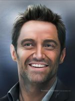 Hugh Jackman by ThreshTheSky