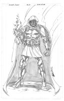 Commission Dr. Doom by markerguru