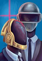 Daft Punk by erovoid