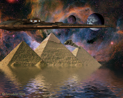 The Pharaoh Sails To Orion by Arcwelder1