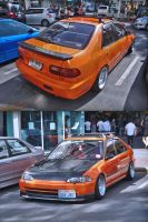 Old's cool Civic by zynos958