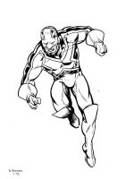 Captain Britain by stokesbook