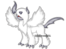 Mega Absol by Lazuliwitch