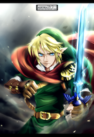 The Legend of Zelda - The first hero by Kortrex
