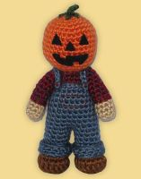 Amigurumi Jack the Scarecrow by ShadyCreations