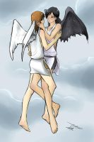 Commission - Angels by Yaoi-Master-Forever
