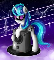 COM. Vinyl with hair Octavia by B---K