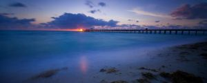 Miami Beach Sunrise by RyanHeffron