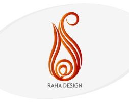 Raha Design LOGO by masouddesign