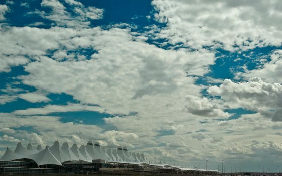 Clouds above Denver by drlightx