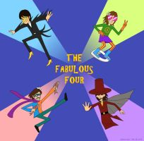 The Fabulous Four by thehurricanes