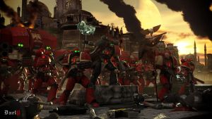 warhAMMER 40000 side by DartP