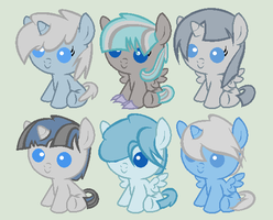 Breedable Foals batch 2 (OPEN 1 LEFT) by PrimeFighterQue