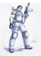 Resident_Evil_5_Chris_Redfield by werder