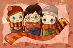 Trio of Scarves by Panic4MCR