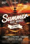 Summer Night Party Flyer by Mariux10