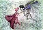 I fight with you, because I love you. by sweetshota