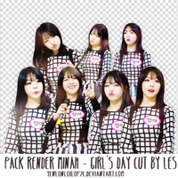PACK RENDER MINAH - GIRLS DAY cut by Les by yenlonloilop7c