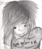 Andy Biersack by XxsilvixX