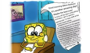 Alternative To The Spongebob's Suicide Picture by rebekamick