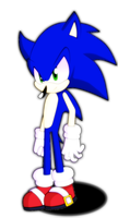 Just Sonic(FAIL) by vickithehedgehog