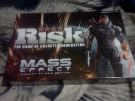 Mass Effect Risk board game by LadyIlona1984