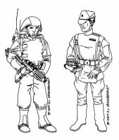 Imperial Ground Forces by MasterMatso