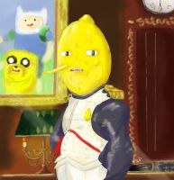 The earl of Lemongrab by ANTONIOMASTERPERES