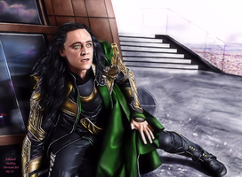 Loki - Burdened with Glorious Purpose XIX by AdmiralDeMoy