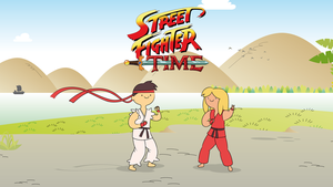 Street Fighter Time - Ryu y Ken by Dave-Yerushalaim