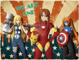 Earth's Mightiest Heroines by Hellsender